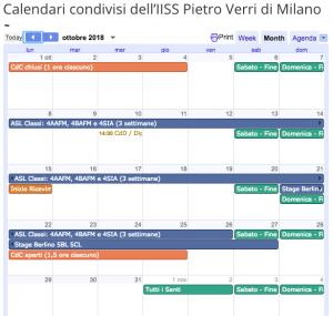 calendario demo