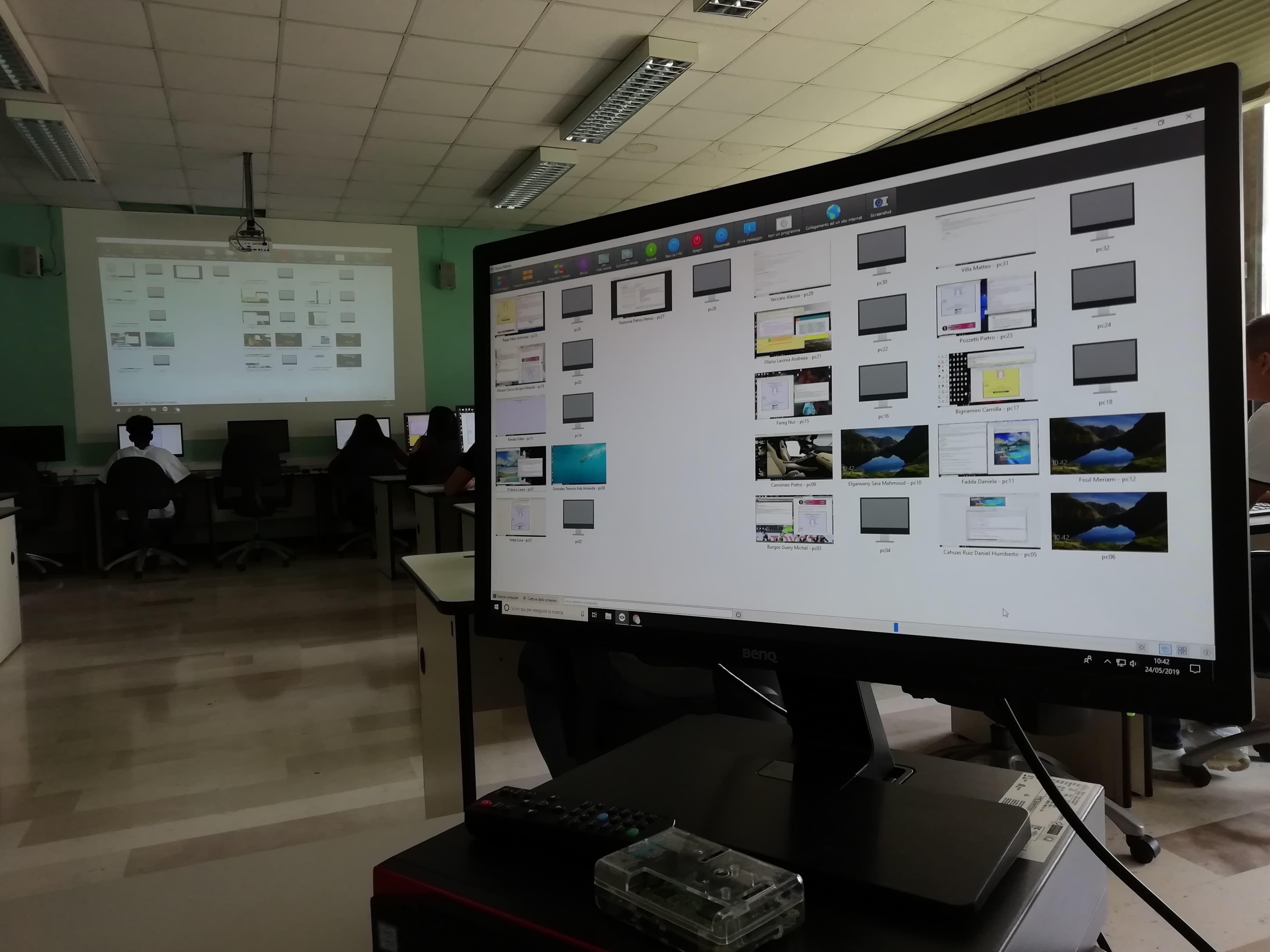 laboratorio informatica triennio